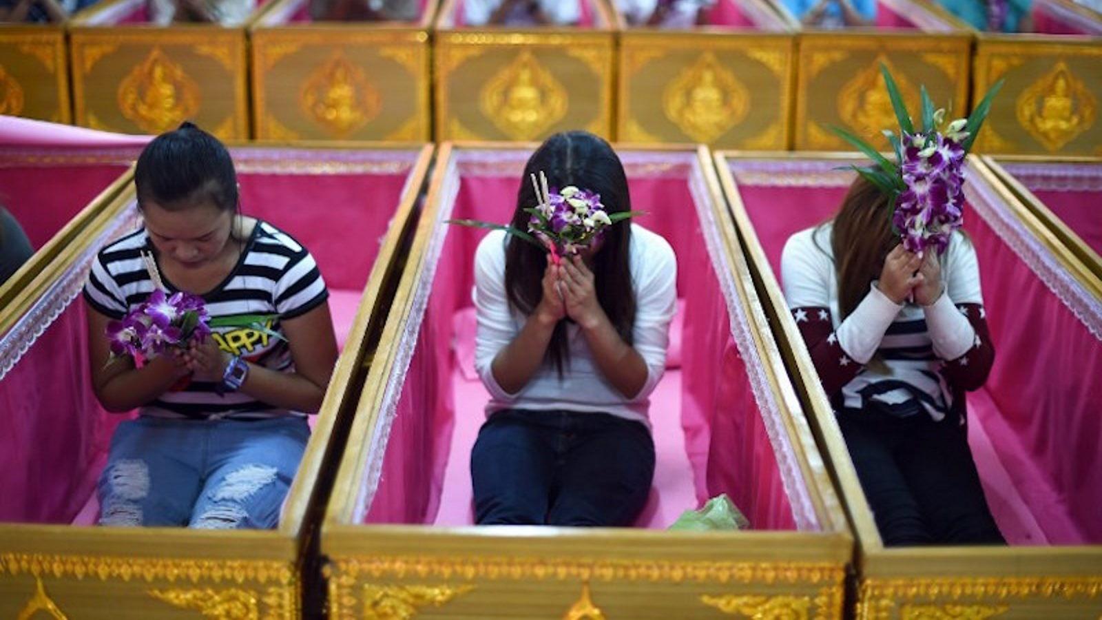 Обряд Похороны Неудач - Паттайя Тайланд Экскурсии Thai-Online